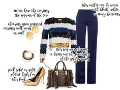 Check out this striped sequined cropped top and metallic Fall outfit at sheheartsthat.com