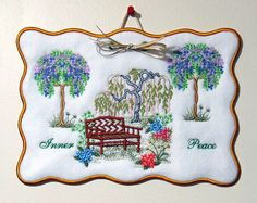 Inner Peace B Wall Hanging Creative Floral Gardens Sue Box