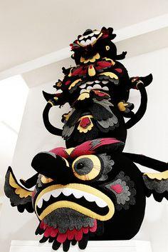 Felt Mistress x Character Totem by inkygoodness