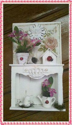 Cenário Rústico Jardim My Roses