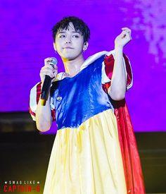 160612 #BIGBANG #NANNING #FANMEETING #GD #SNOWHITE  #빅뱅 #지드래곤 #지디 #CaptainG