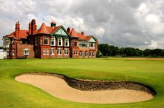 Royal Lytham & St. Anne's Golf Course, home of the 2012 Open Championship.