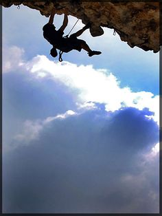 Rock Climbing, La Colle sur Loup, Cote d'Azur, France