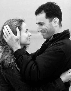 """Daniel Day-Lewis y Emily Watson en""""The Boxer"""", 1997"""