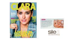Silea en la revista Clara  #sileacosmetics #prensa #media