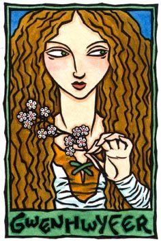 Gwenhwyfar, May Queen of Britain