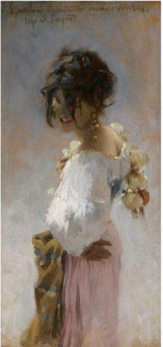 Rosina, 1878  John Singer Sargent