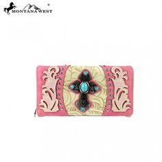 Montana West Spiritual Collection Secretary Style Wallet (MW273-W010)