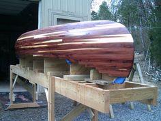 Red Cedar Strip Canoe