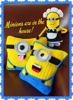 Yes, they are and I love, love, love them! I haven't seen anything like this online, yet, they are incredible cute. These Free Minion Inspired Doll+Pillow Patterns by Connie Hughes Designs are excellent patterns with great and funny photos. The talented designer has also, a great sense of humor. Once you'll see her pictures, you …