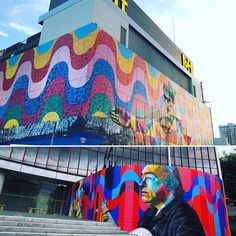 #Brazil #RiodeJaneiro #Kobra #mural #Seibu #BrazillianEmbassy #Ikebukuro…