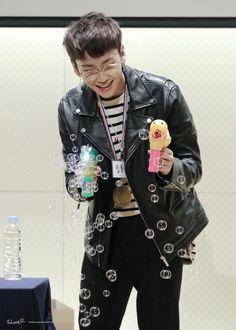 Why is he soooooooo cute? Btob Ilhoon, Minhyuk, Btob Members, Rapper, Pop Collection, Asian Boys, Alexander Mcqueen Scarf, Punk, Kpop