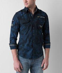 bece36346e Affliction Black Premium Revelation Shirt - Men s Shirts in Pacific Black