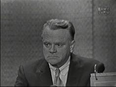 MYSTERY GUEST: James Cagney PANEL: Arlene Francis, Gore Vidal, Dorothy Kilgallen, Bennett Cerf