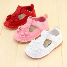 Giày tập đi bé gái phối quai, họa nhỏ xinh, đế mềm, trơn màu nổi bật