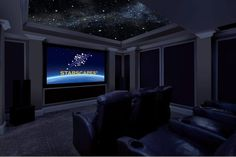 Cozy Small Movie Room Design Ideas For Your Happiness Family 368 Home Theater Decor, At Home Movie Theater, Home Theater Rooms, Home Theater Seating, Home Theater Design, Small Room Design, Family Room Design, Small Movie Room, Movie Rooms