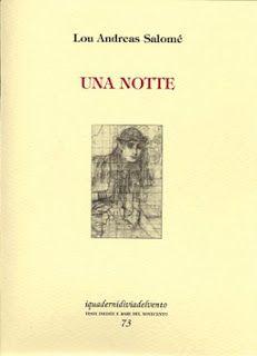 Margini in/versi: Lou Andreas Salomé - Una notte