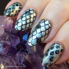 Rainbow Trout nail art