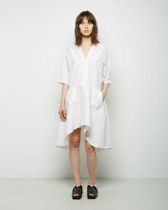 flouncy poplin dress--ZERO + MARIA CORNEJO