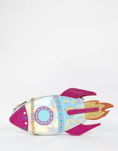 Image 1 of Skinnydip Light Up Rocket Cross Body Bag