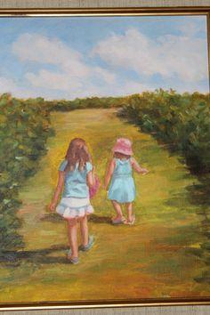 Lakewood Ranch Golf Club House, Myakka and two granddaughters Lakewood Ranch, Paintings, Club, Art, Art Background, Painting Art, Painting, Kunst, Gcse Art