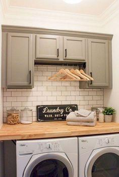 Stunning 55 Modern Farmhouse Laundry Room Decor Ideas https://decorapartment.com/55-modern-farmhouse-laundry-room-decor-ideas/