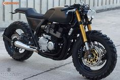 Dan choi Ha Noi do Yamaha XJR400 cafe racer �Ssieu ngau�
