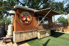 Rainey Street Bites - A world of flavor- all one one street.     @El Naranjo - 85 Rainey, 474-2776.    @Cazamance = 96 Rainey, 487-7222  Monday-Friday, 6pm-1:30am; Saturday-Sunday, noon-1:30am.    @G'Raj Mahal Cafe  91 Red River (facing Davis), 480-2255