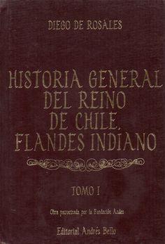 Resultado de imagen para Diego de Rosales. Historia General del Reino de Chile