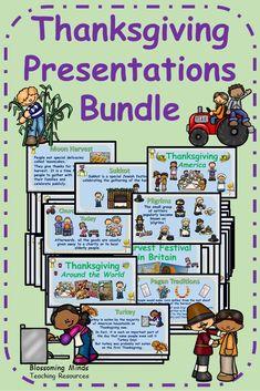 Thanksgiving Presentations Bundle
