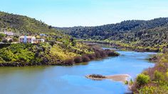 View of Guadiana river, Portugal by shootdiem on @creativemarket