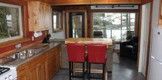 Gray Whale Lodge Gray Whale, Lodges, Places Ive Been, Lion, Bucket, Sea, Luxury, Kitchen, Table