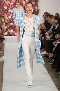 NY FW S/S 2015 Oscar De La Renta. See all fashion show at: http://www.bookmoda.com/?p=28608 #spring #summer #ss #fashionweek #catwalk #fashionshow #womansfashion #woman #fashion #style #look #collection #NY #oscardelarenta