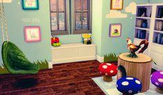 My Sims 4 Blog: Whimsical Playroom by KiaraRawks