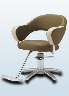 ooh, looks comfy!  The Nagi Salon Styling Chair by Takara Belmont
