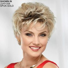 Shop our online store for blonde hair wigs for women. These natural hair and synthetic wigs fit mini petite, petite, average and large head sizes. Wig styles include wavy, straight and curly hair in a variety of lengths and shades of blonde. Cheap Human Hair Wigs, Short Hair Wigs, Wig Styles, Curly Hair Styles, Unique Prom Dresses, Blonde Wig, Womens Wigs, Synthetic Wigs, Covergirl