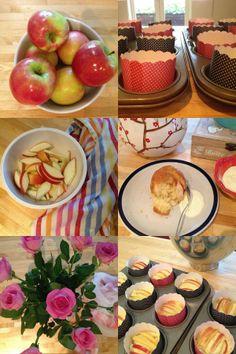 Little Pudding: Old Fashioned Apple Tea Cakes