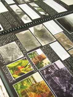 Take a look through our examples of sketchbooks from our Photography Course. All students are encouraged to work in our A2 sized sketchbooks. Here students can colate information and ideas to present for final assessment at the end of the year.
