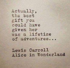 Lifetime of adventure