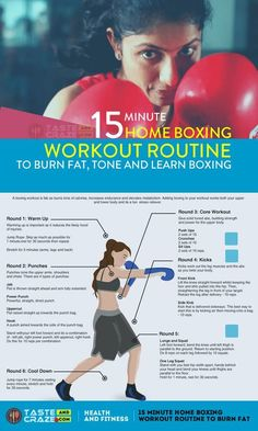 This 15 minute Home boxing workout routine is a grea. This 15 minute Home boxing workout routine is a great way to burn fat, Boxing Workout With Bag, Boxing Workout Routine, Punching Bag Workout, Boxer Workout, Heavy Bag Workout, Cardio Boxing, Shadow Boxing Workout, Boxing Training Workout, Workout Partner