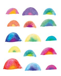 Rainbow-Inspiration for Color Theory