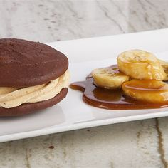 Try this Chocolate Peanut Butter Whoopie Pies recipe by Chef Anna Olson. This recipe is from the show Bake With Anna.