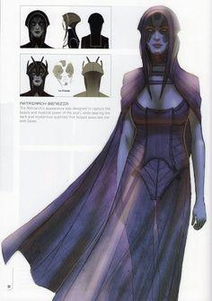 Matriarch Benezia from Mass Effect