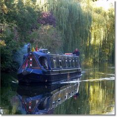 Canal Boat by Julius V *