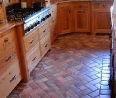 vinyl flooring that looks like brick