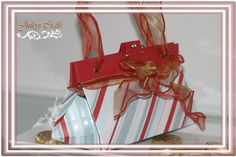 Crafter's Companion Official Blog Page: Graduation Tote Purse Tutorial Using Ultimate Crafter's Companion Tool