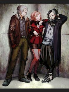 Yomo , Itori and Uta - Tokyo Ghoul