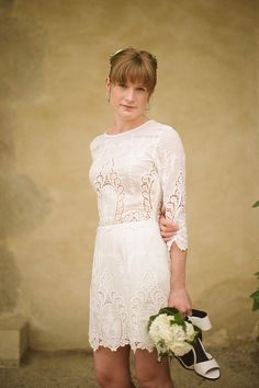 Wild Flowers In Her Hair ~ A Relaxed, Rustic and Intimate Wedding in the South of France