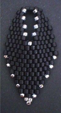 TUTORIAL Russian Leaf Earrings  Bead pattern PDF by Ellad2 on Etsy, $5.00