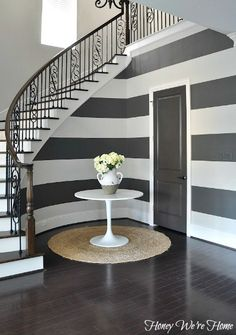 Wide horizontal stripes